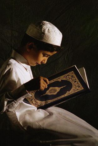 Gambar Anak Membaca Al Qur'an